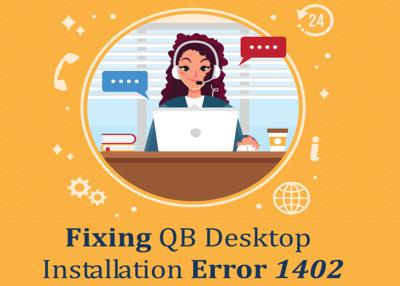 Fixing QB Desktop Installation Error 1402