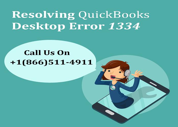 Resolving QuickBooks Desktop Error 1334