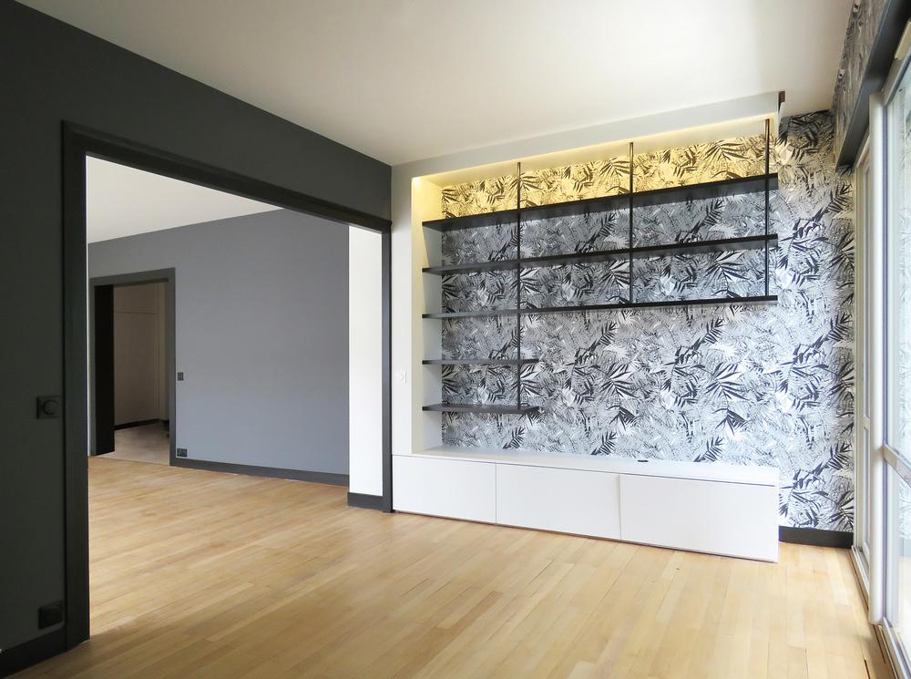 Rénovation d'un appartement en résidence principale (La Rochelle 17) 2019