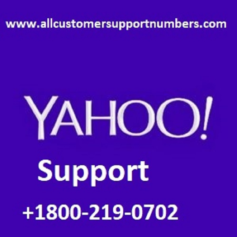 yahoo customer support number 1800-219-0702