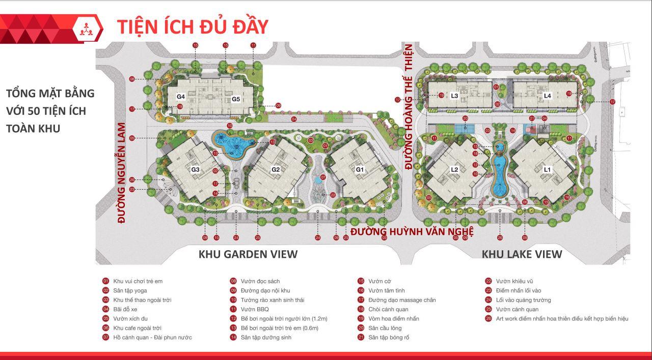 Bảng giá chung cư Le Grand Jardin