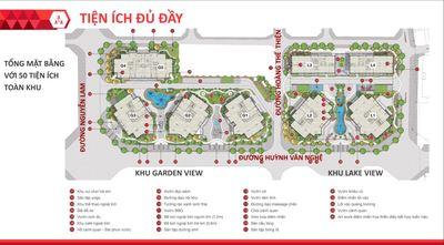 Tiện ích dự án Le Grand Jardin