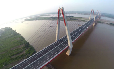 Xây dựng cầu Vĩnh Tuy mới 2020