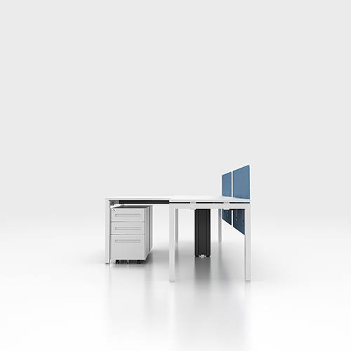 office desk partitions for 2