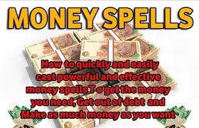 Powerful money spells that really works