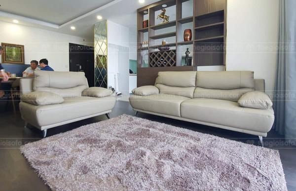 Sofa da bộ