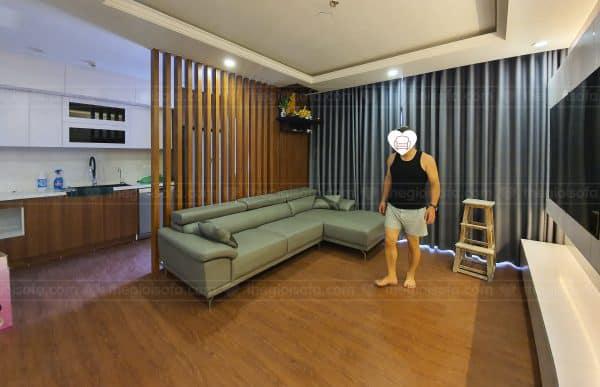 Sofa góc da cao cấp