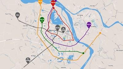 Quy hoạch đường vành đai 1, 2, 3, 4, 5 & 2.5, 3.5 Hà Nội