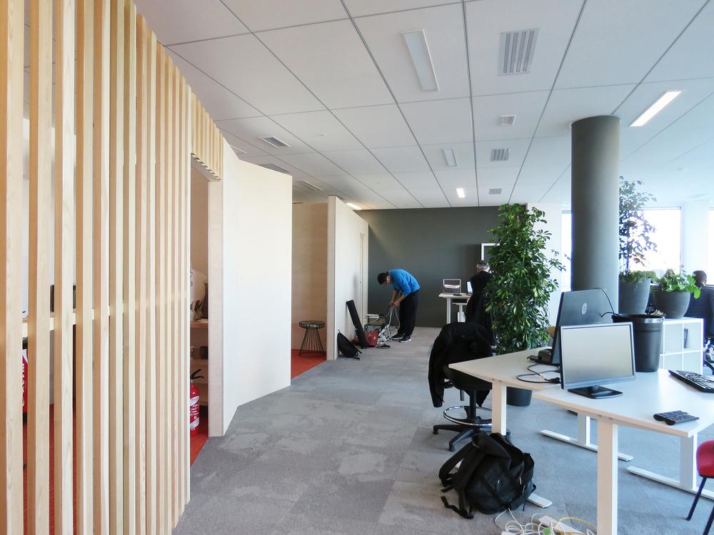 Aménagement de bureaux (Lagord 17) 2020
