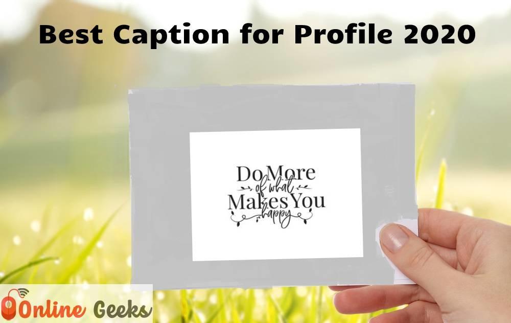 Best_Caption_for_Profile_2020