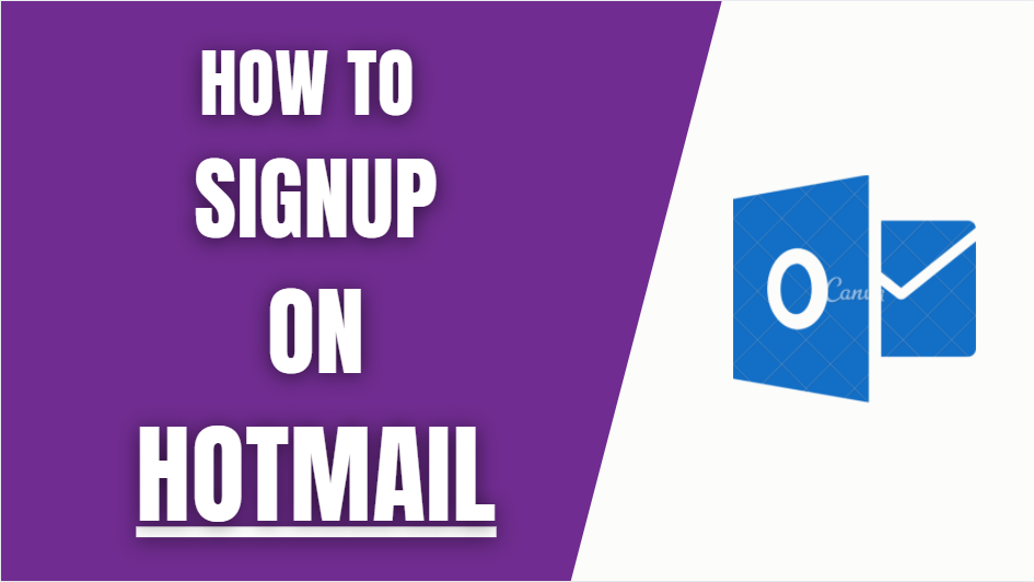 Hotmail signup